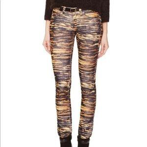 Isabel Marant Étoile Corduroy Tiger Print Pants